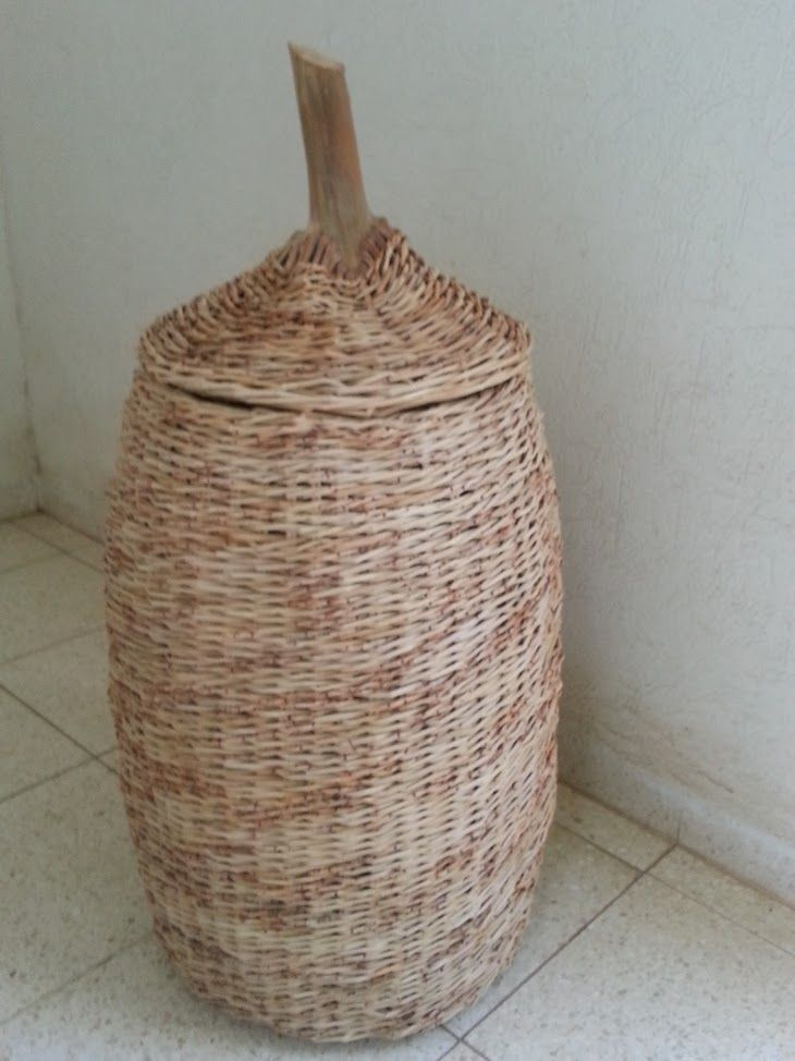 How To Weave A Basket Out Of Twigs : Ideas about woven baskets on