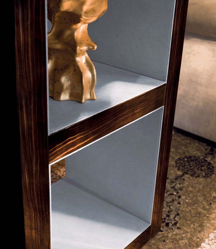 Hamilton Bookcase detail, Glamour Living Room Design at ...