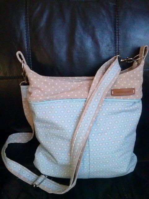 Easybag Mini nach dem Freebook von Schnabelina