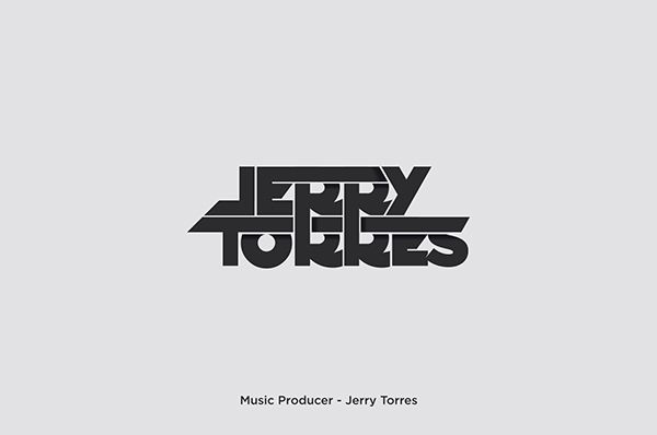 Jerry Torres - DJ - Logo - Design - Identity - Branding