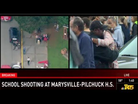 Shooting at Marysville Pilchuck High School - Shooter in Washingtonstate...