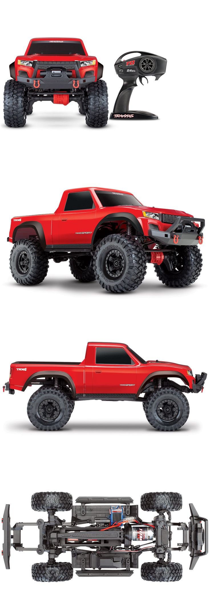 Details about Traxxas TRX4 Sport RTR with Red Body