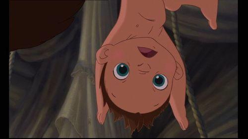 Baby Tarzan is such a cutie :)