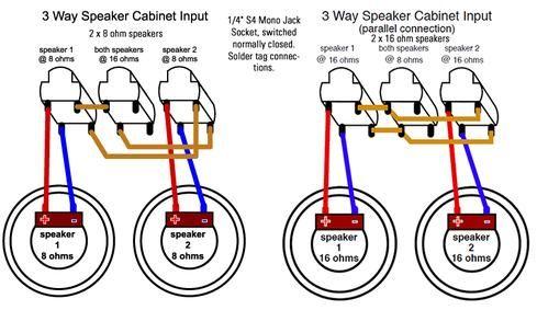 3 Way Speaker Cabinet Input Speaker Cabinet Speaker Guitar Cabinet