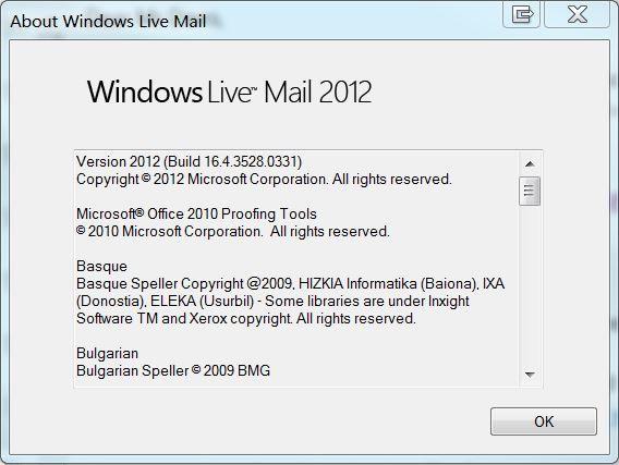Windows live mail 2018 15.4.3502.0922