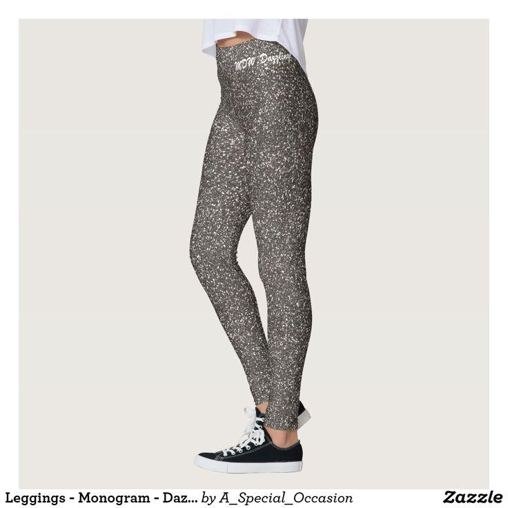 Leggings - Monogram - Dazzling