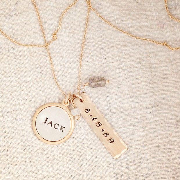 Hand Stamped Jewelry - Three Sisters Jewelry Design