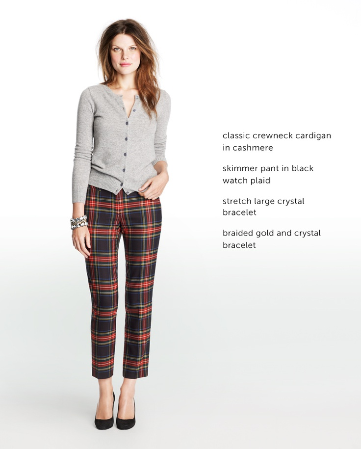 Wonderful Good Life of Design: How To Wear Plaid Pants GU17