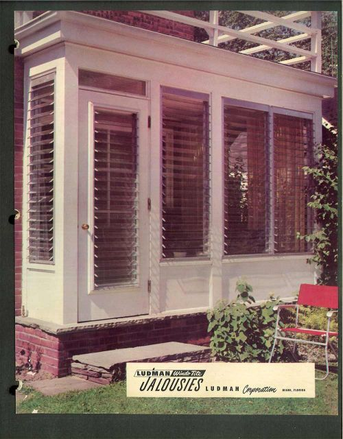 Where to buy new or replacement Jalousie windows for your midcentury modern (or modest) house.