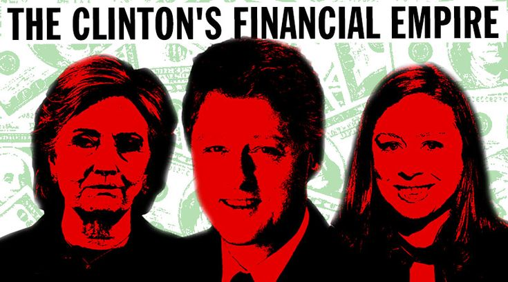 EVERYTHING YOU EVER WANTED TO KNOW ABOUT THE CLINTON'S FINANCIAL EMPIRE (By Roger Stone) Foreign nationals are banned by law from contributing to American politicians' campaign coffers. They are not, however, banned from contributing to private foundations. According to Ken Thomas of the Washington Post,