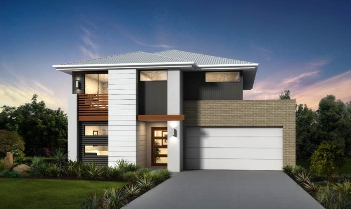 Masterton home designs shiraz timeless rhs facade for Masterton home designs