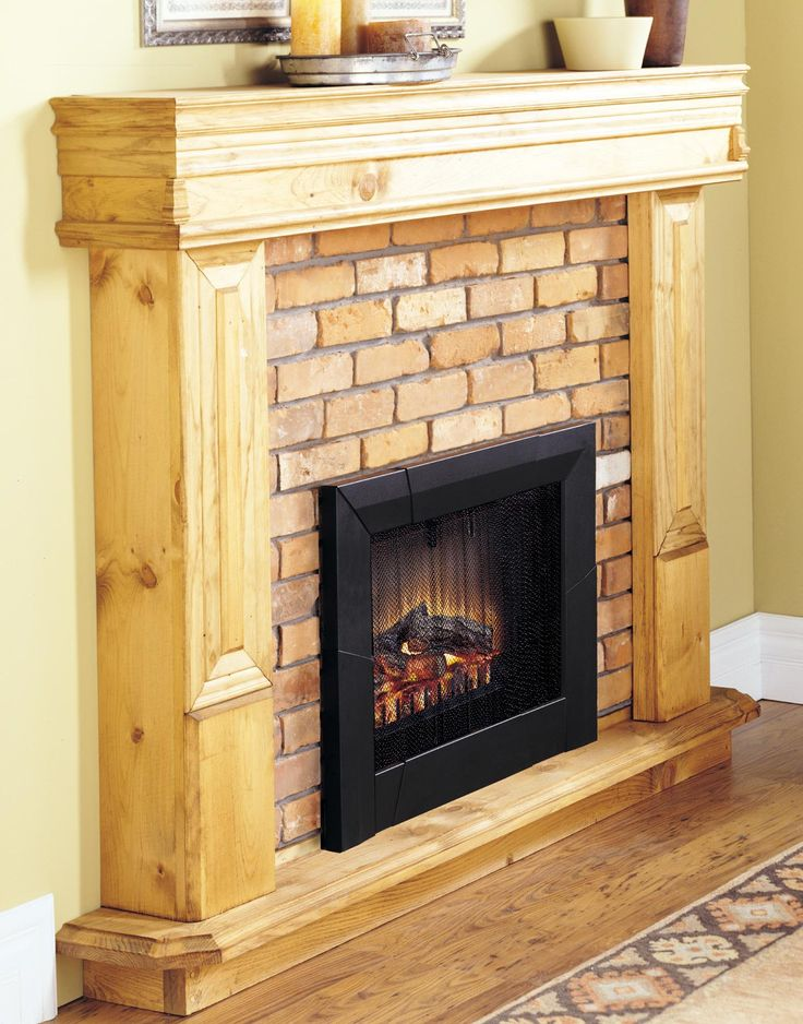The 25 Best Fake Fireplace Logs Ideas On Pinterest Faux Mantle Fake Fireplace And Fireplace