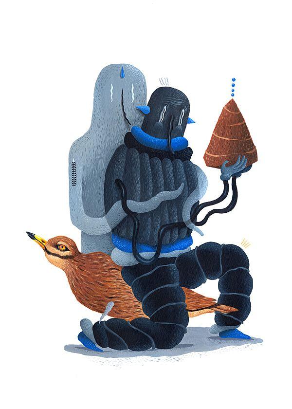 New Illustrations by Saddo