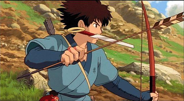 Ashitaka from Princess Mononoke