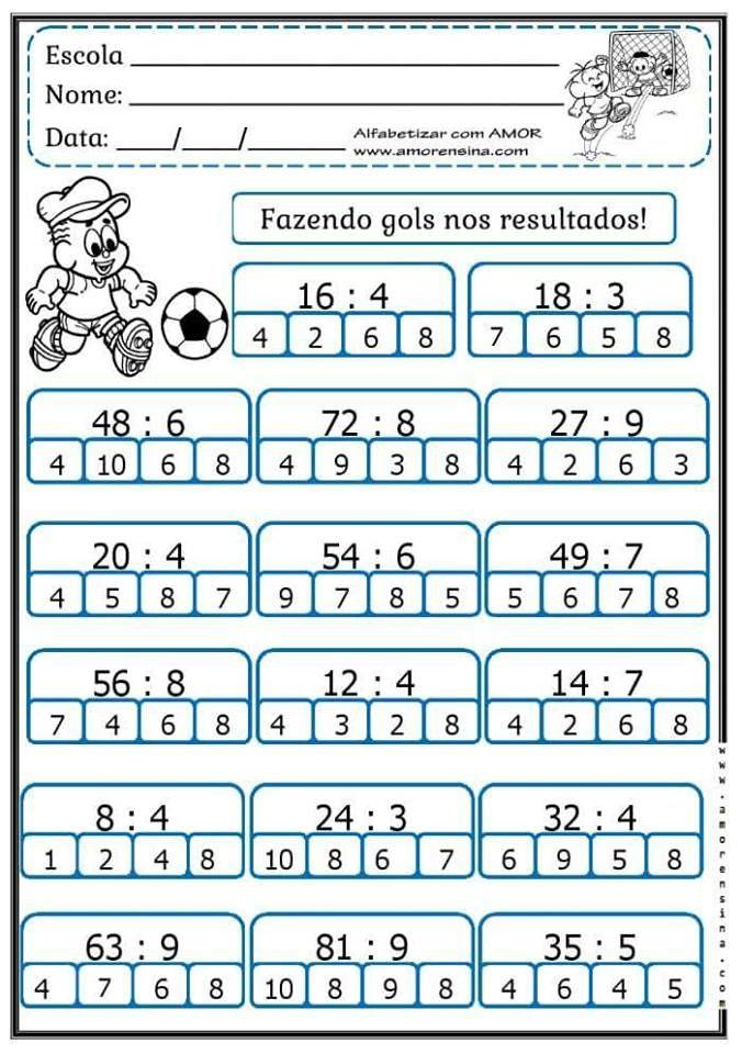 16 best Osztás gyakorlása images on Pinterest | Math activities ...