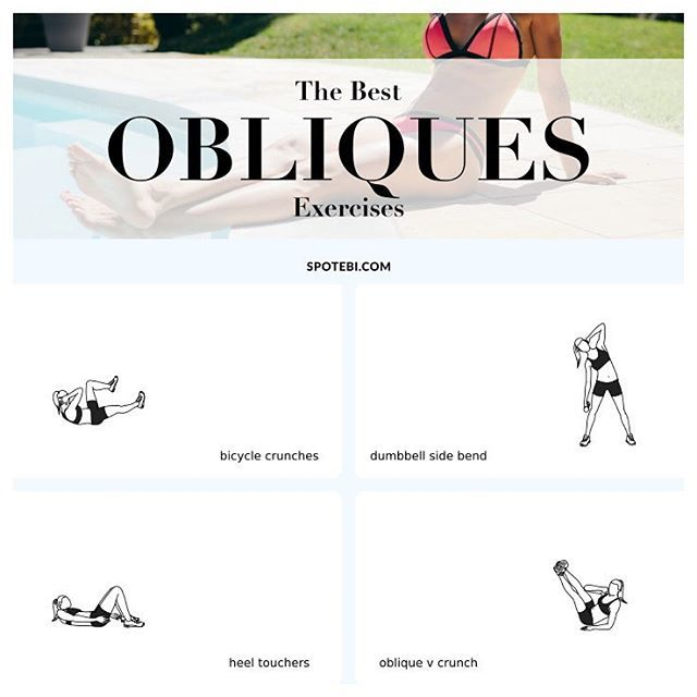 Top 10 OBLIQUES #Exercises For Women: Cinch The Waist & Get Rid Of Your Muffin Top! http://www.spotebi.com/fitness-tips/best-exercises-cinch-waist-strengthen-obliques/ @Spotebi #SpotebiTeam