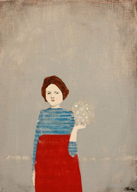 she carried truth and perfection with her by amanda blake art on Flickr.
