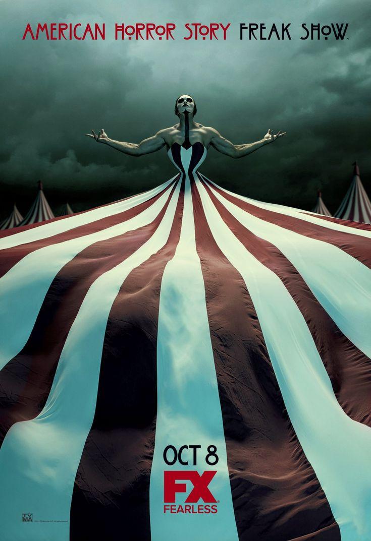 Resultado de imagem para american horror story Freak Show  posters