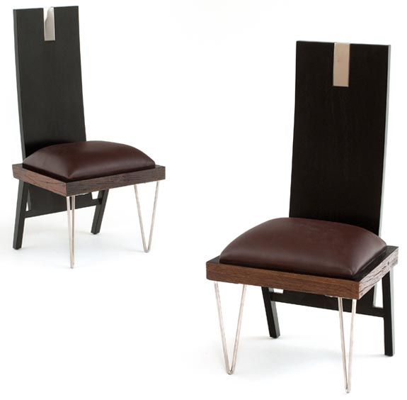 Reclaimed modern dining chair dining chairs pinterest for Modern dining chairs pinterest