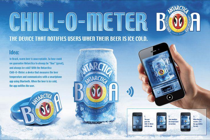 Antarctica Chill o Meter, 2012 - Andre Sallowicz art director
