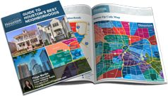 free guidebook to some of Houston's best neighborhoods