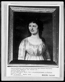 Amalia Charlotte Wilhelmina Louise van Nassau-Weilburg - Wikipedia