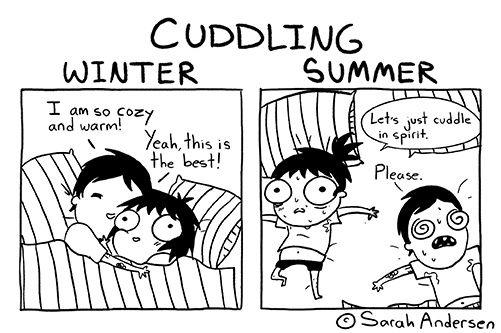 Sarah's Scribbles :: Cuddling  | Tapastic Comics - image 1