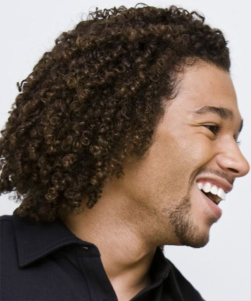 Hairstyles For Curly Hair Black Guys : 22 best curly curls images on pinterest