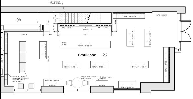 12 best images about retail floor plans on pinterest