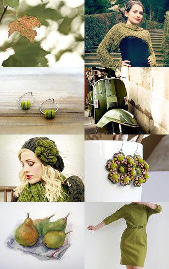 Autumn greens  --Pinned with TreasuryPin.com