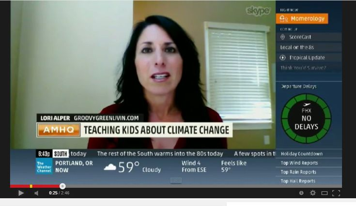 My Appearance on The Weather Channel: Climate Change #telvision #TheWeatherChannel