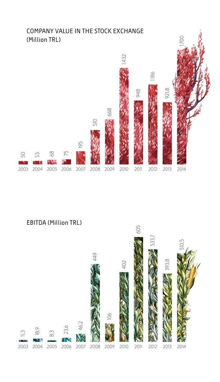 Gübretaş Annual Report 2014 on Behance