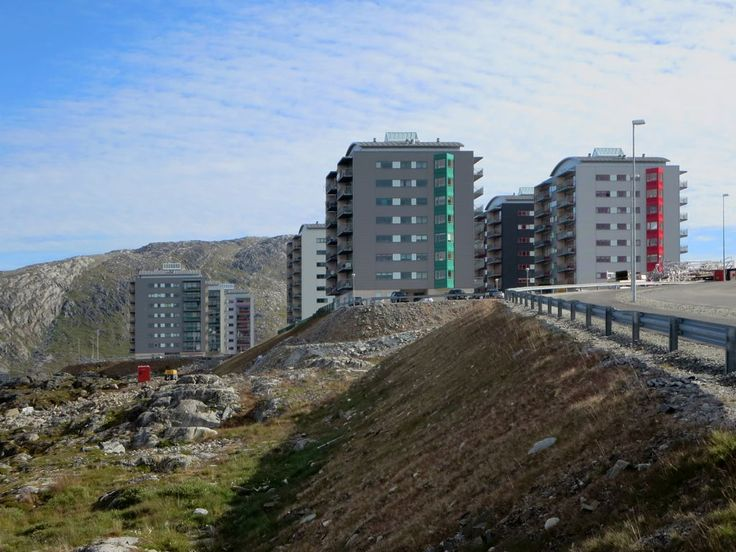Qinngorput is the newest nighbourhood in Nuuk, Greenland. Unlike the situation in the rest the city, most of the apartments here are privately owned.