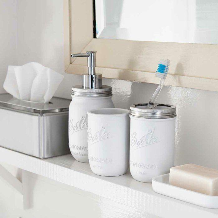 Die besten 25+ Seifenspender wand Ideen auf Pinterest Moderne - badezimmer accessoires set