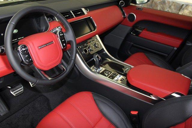 2014 Land Rover Range Rover Sport Pimento Interior Landroverpalmbeach Landrover Rangerover
