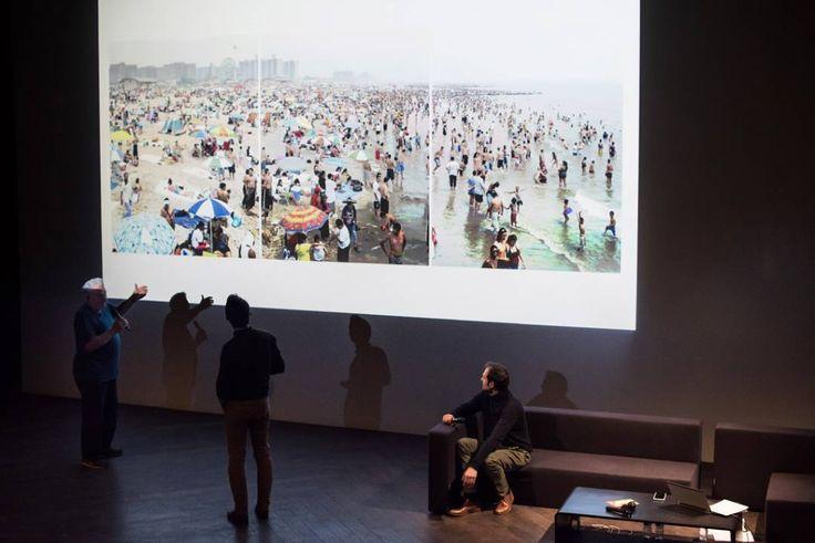 Massimo Vitali Talk at Mucem Marseille - 2017