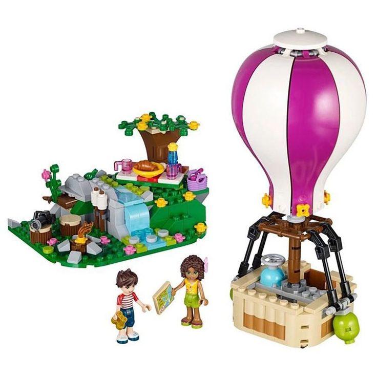 Goedkope Vrienden heartlake luchtballon meisje blokken bricks diy speelgoed gift compatibel met legoed 41097, koop Kwaliteit blokken rechtstreeks van Leveranciers van China: Vrienden heartlake luchtballon meisje blokken bricks diy speelgoed gift compatibel met legoed 41097