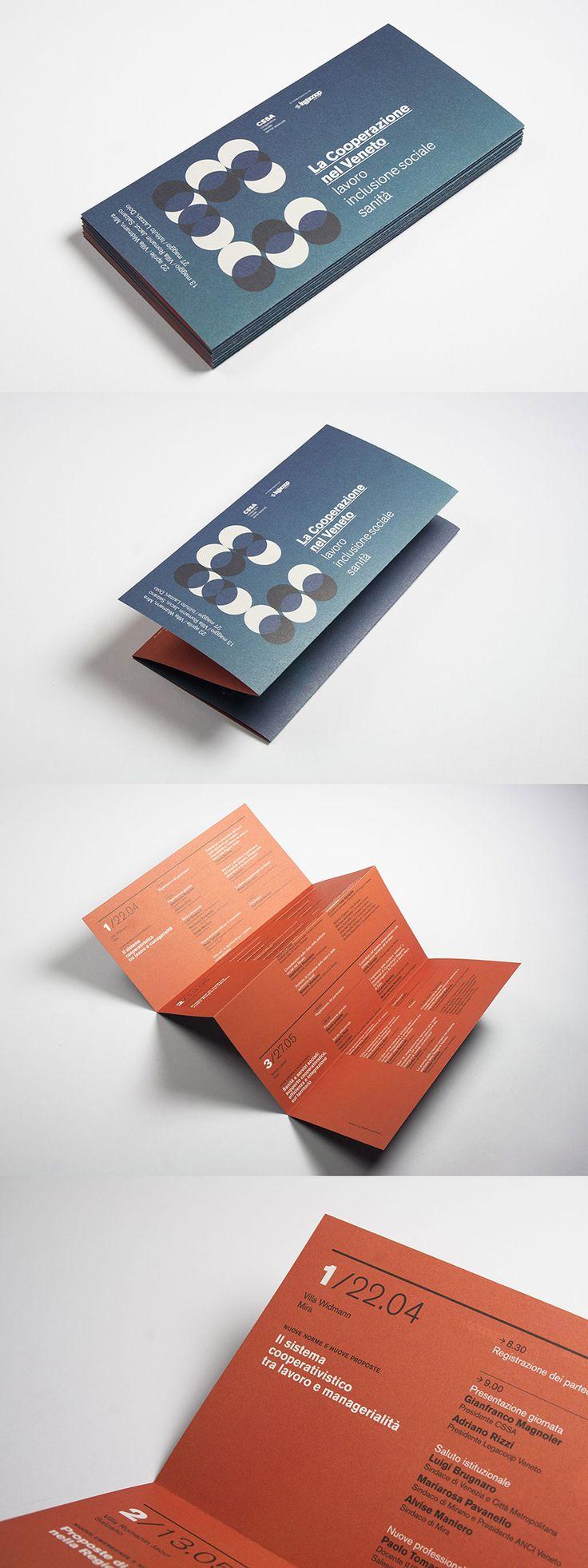 la cooperazione nel veneto, leaflet — hstudio