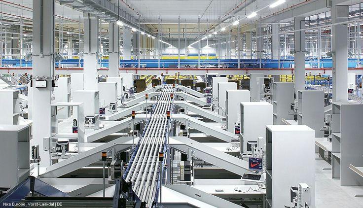 Industri interiör