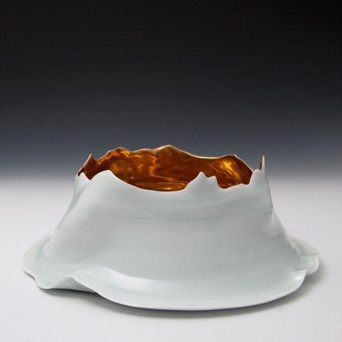 Takeshi Yasuda - Small Bowl with Gold