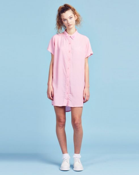 Lazy Oaf Pink Heart Cut Out