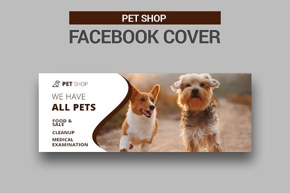 Pet Shop Facebook Cover Facebook Cover Pet Shop Pets