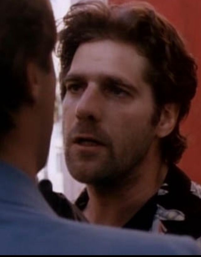 Glenn Frey. I could look at him all day long.this from Miami Vice episode.