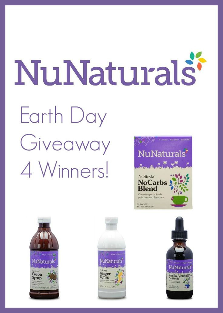 Don't miss @NuNaturals, Inc.#EarthDay #Event ! A tree will be planted for every $1.00 spent! There are #discounts! #recipes and #giveaways! Enter here -