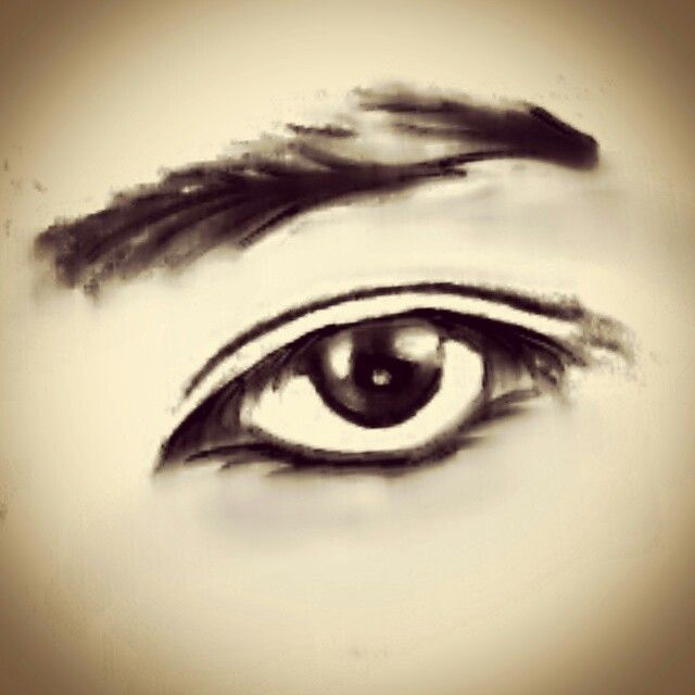 The Eyes.. N #Negative #PencilArt