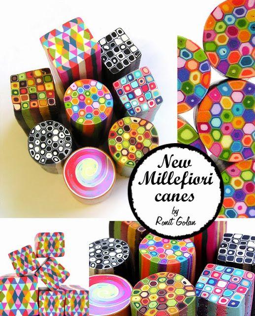 New Millefiori Geometric Canes
