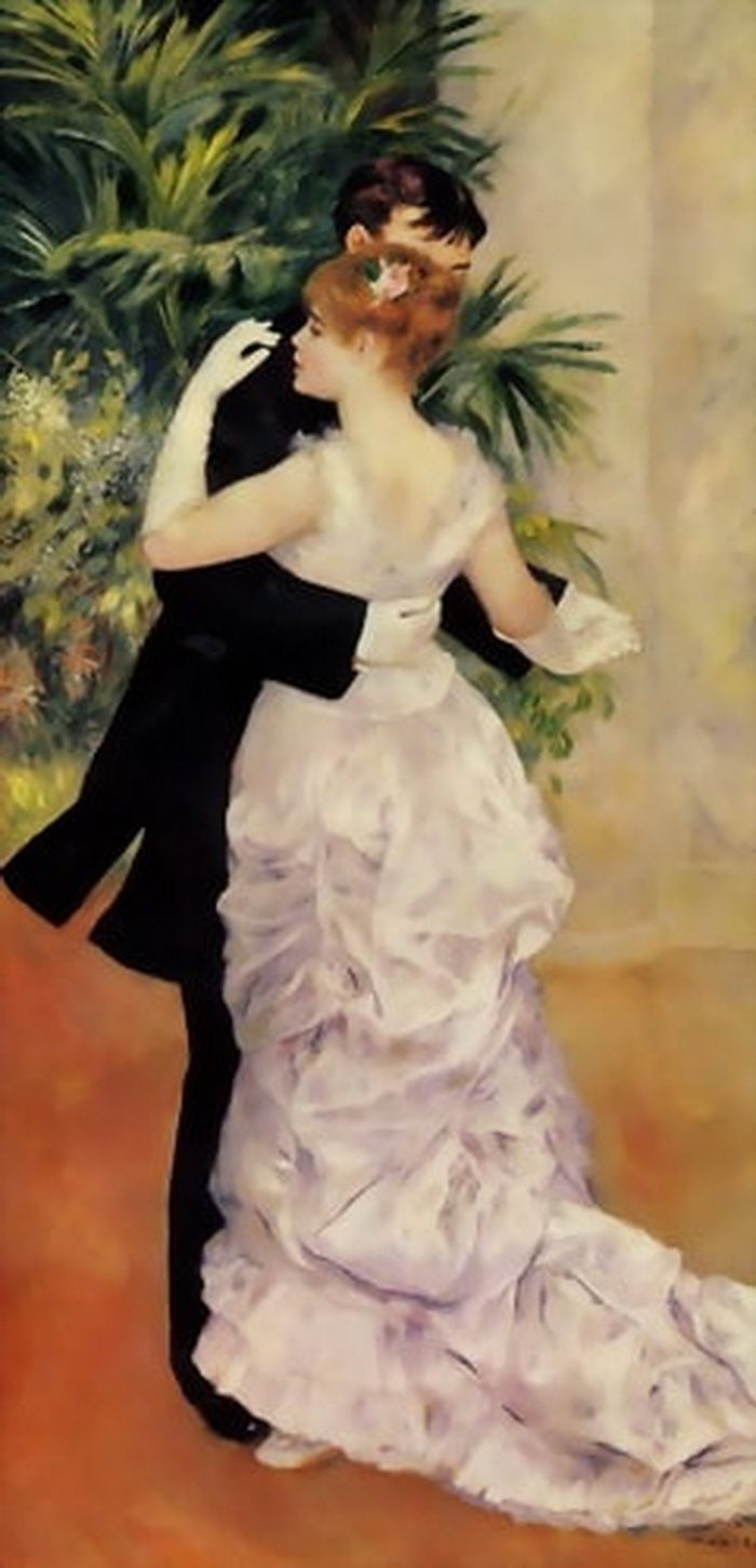 Dance in the City  Pierre Auguste Renoir