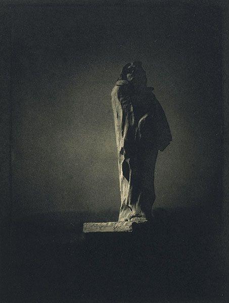 Edward Steichen, Picture of Auguste Rodin's sculpture of Honoré de Balzac (1911)