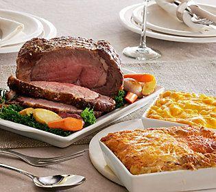 Kansas City Steak Company 4.5lb Prime Rib with (2) 2 lb. St. Clair Sides