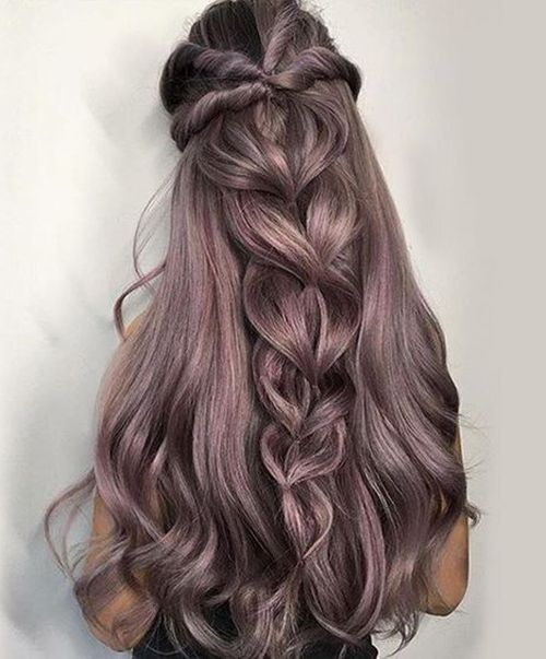 Long Thick Hairstyles Delectable 60 Best Hair Styles Images On Pinterest  Hair Ideas Hairstyle